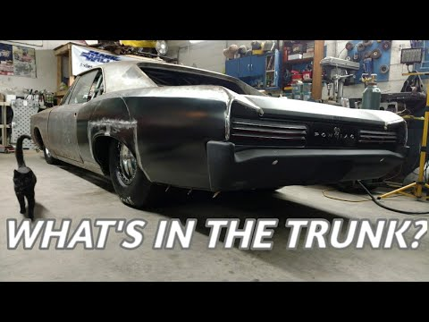 GTO Trunk Pan install part 2