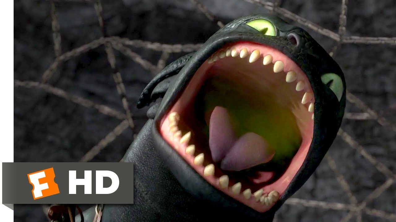 How to Train Your Dragon (2010) - Hiccup's Final Test Scene (7/10) | Movieclips