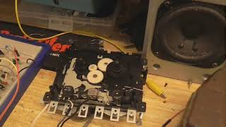 Update on the home made tape recorder prodject