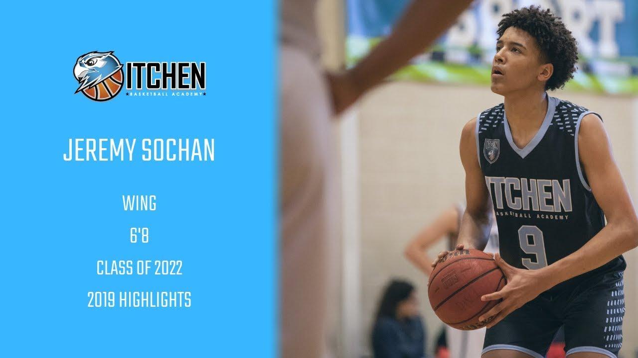 Jeremy Sochan (Class of 2022) 2019 Highlights - La Lumiere Commit
