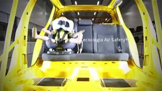 AxissFix Air crash test video - First child seat with airbag