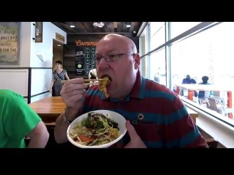 Tasting Whole Foods Asian/Sushi concept: Wok Street in Altamonte Springs, Florida