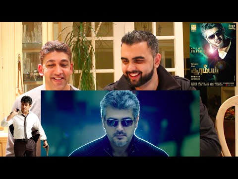 ARRAMBAM Trailer Reaction | Ajith 'Thala' Kumar |