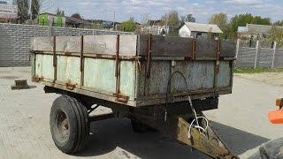 Купить прицеп тракторный одноосный 3 т самосвальный, б/у minitrak.com.ua