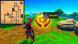 ''Follow the treasure map found in Shifty Shafts'' LOCATION! [Fortnite Season 5: Week 9 Challenges]