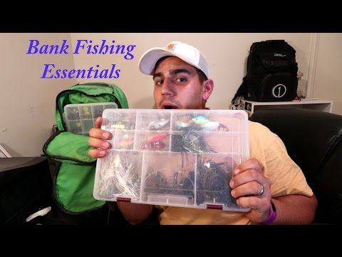 MY Bank Fishing Essentials