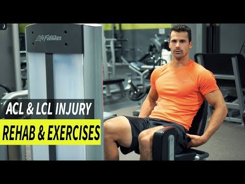 How to Rehab & Workout Legs with ACL or LCL Injury