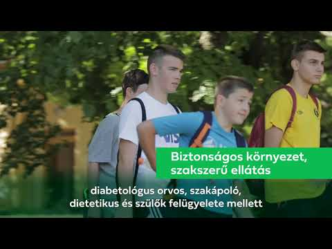Lezárult a cukorbeteg gyermekek nyári táboroztatása