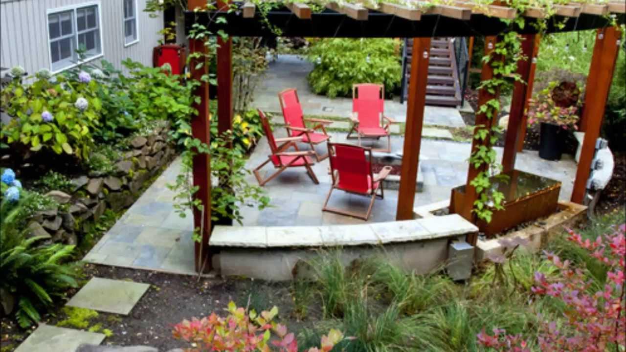 BEAUTIFUL GARDEN LANDSCAPE IDEAS - YouTube on Beautiful Patio Designs id=35917