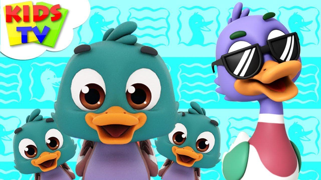 Funny Little Ducks | The Supremes | Cartoon Videos | Nursery Rhymes For Babies - Kids TV
