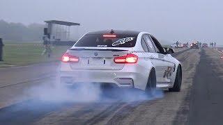 CRAZY!! BMW M3 F80 PERFORMANCE doing BURNOUTS!
