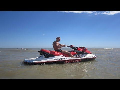 Кирилловка! Первый раз сел за водный мотоцикл! Экстремальное катание (ORIGINAL VIDEO)