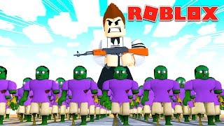 CREATE YOUR OWN ZOMBIE ARMY!   Roblox Infection Inc.