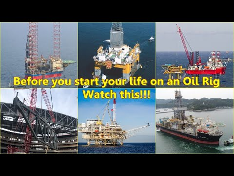 Life on an Offshore Oil Rig