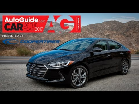 2017 Hyundai Elantra 2017 AutoGuide.com Car of the Year Contender Part 1 of 7