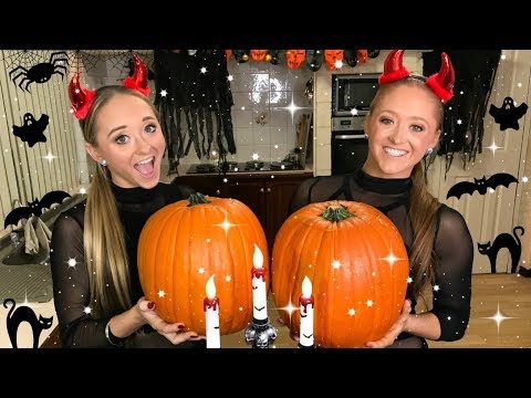 Pumpkin Carving Challenge | Teagan & Sam