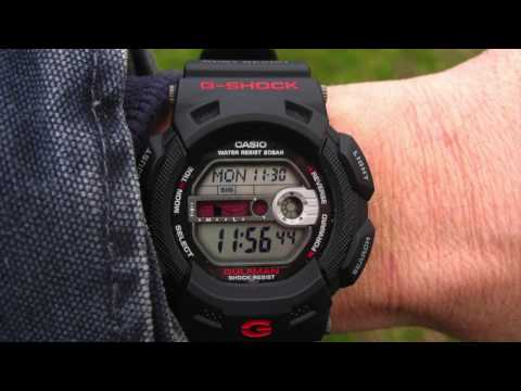 5 รุ่นเเนะนำ นาฬิกา G-shock คุ้มค่า ราคาประหยัด