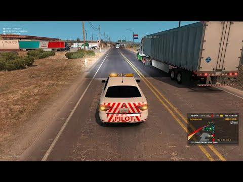 Multiplayer American Truck Simulator | El Gran Convoy de Oakland a San Simon