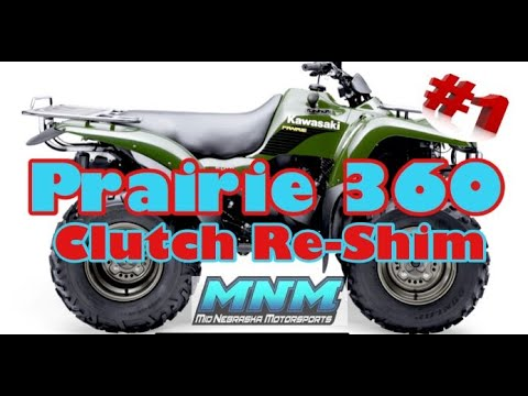 How To Remove Shim A Kawasaki Prairie 360 Drive Belt Clutch Service Shop Rolling Forward 1of2 Youtube