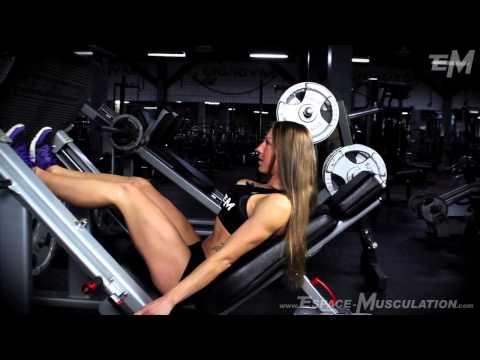Presse à cuisses - Exercice de Musculation pour les Cuisses