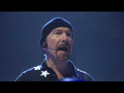 U2 The Edge - With Or Without You (Paris Accord Hotel Arena - 7 Décembre 2015)