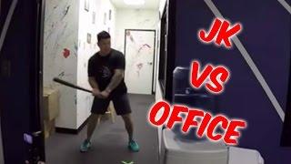 JK Vlogs Office Destruction/Weapons