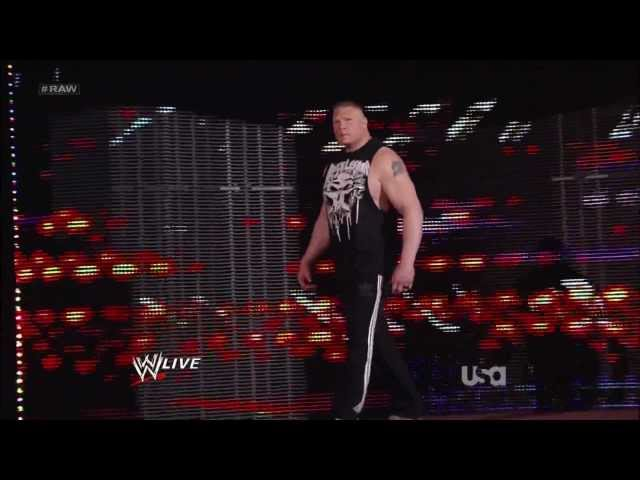 WWE Extreme Rules 2012 John Cena vs Brock Lesnar custom promo Travel Video