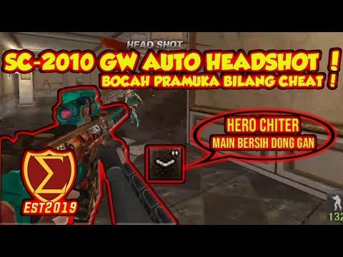SC-2010 GW AUTO HEADSHOT ! BOCAH BILANG CHEAT ! - POINTBLANK INDONESIA
