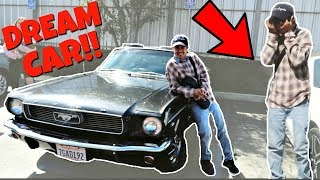 SURPRISING MY HUSBAND WITH HIS DREAM CAR...