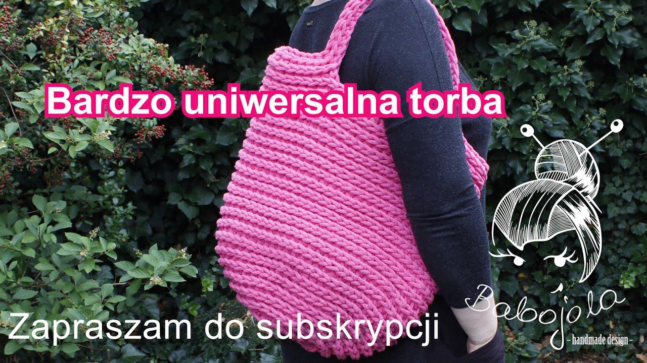 Bardzo uniwersalna torba- A very universal bag