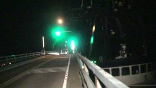 Fishing Vessel hits Bridge
