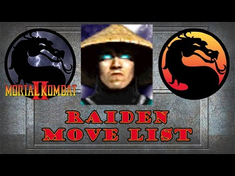 Mortal Kombat 2 - Raiden Move List