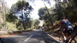 Cycling the Mountains of Mallorca - Action Video