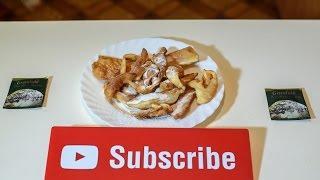 Очень простой рецепт печенья на сковороде Хворост как приготовить(Нежное, сладкое и хрустящее печенье, которое тает во рту, это печенье хворост. Простой рецепт приготовления..., 2016-10-09T01:28:45.000Z)