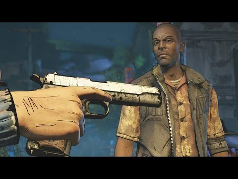 Give Conrad the Gun? - The Walking Dead Season 3 Episode 3