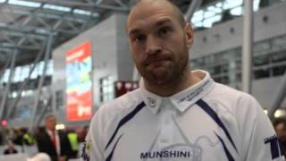 TYSON FURY - 'YES MAYBE ME AND ROD STEWART COULD DO A DUET ON SATURDAY NIGHT - MAGGIE MAY!'