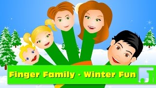Finger Family - Winter Fun | Winter Delight |   Nursery Rhymes | Kids Songs