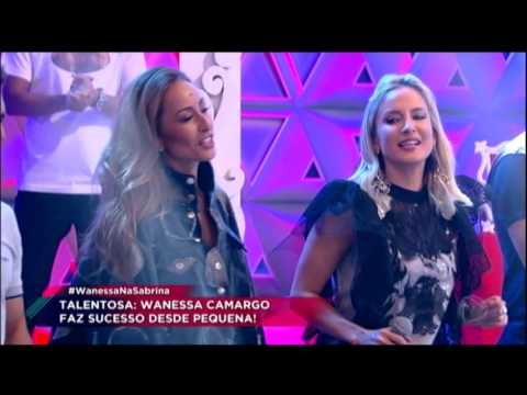 """Wanessa canta seu mais novo sucesso no palco da Sabrina, """"Anestesia"""""""