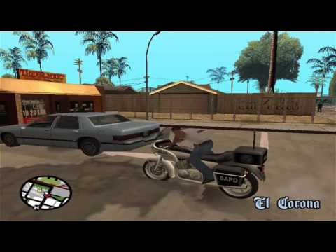 cj juega al Hill Climb Racing GTA San Andreas Loquendo