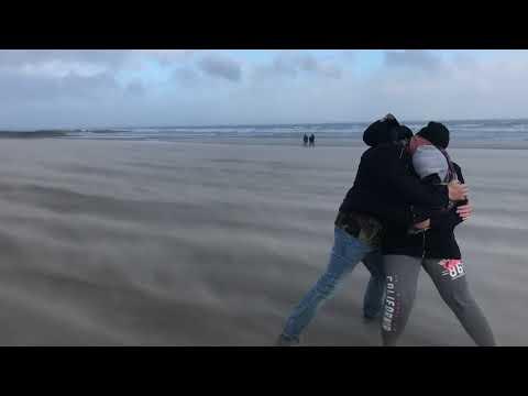 Hurricane Ophelia - Portmarnock Beach, Dublin 2017