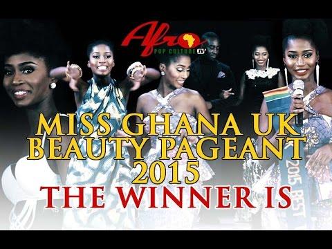Miss Ghana UK 2015 - Winning Moment