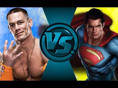 JOHN CENA vs SUPERMAN! Salt Assault!