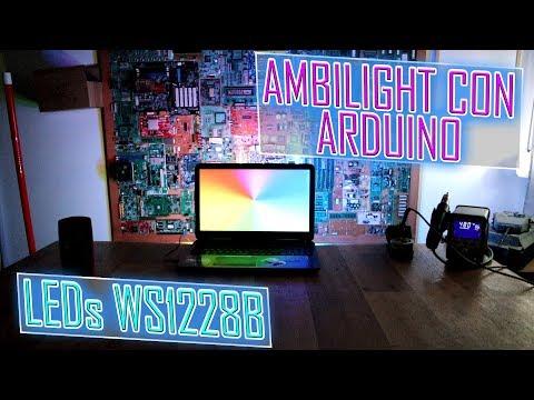 Pr#39 Ambilight Para PC Con Arduino Y LEDs WS2812B