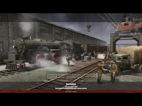 MoW - Men of War - Soviet campaign - Mission 2 - Evacuation - HD