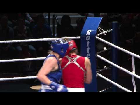 Nouchka Fontijn op EK boksen voor vrouwen