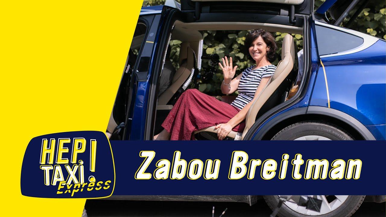 Zabou Breitman : Une artiste aux multiples talents  ﹂Hep Taxi ﹁