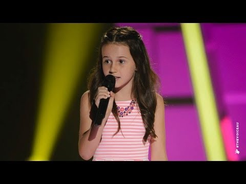 Jasmine Sings It's Oh So Quiet | The Voice Kids Australia 2014