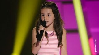 Jasmine Sings Its Oh So Quiet | The Voice Kids Australia 2014