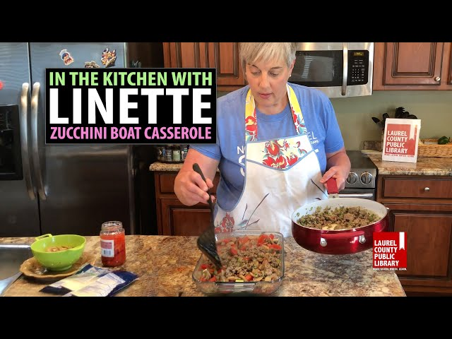 In The Kitchen with Linette   Zucchini Boat Casserole