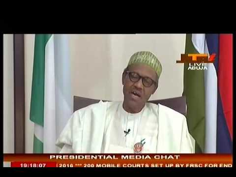 Nigeria's President Buhari's First Presidential Media Chat - 30 December 2015